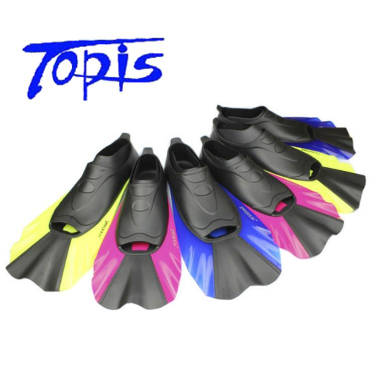 Wholesale fins diving for adult swimming diving equipment flipper rubber swimming fins Free Shipping(China (Mainland))