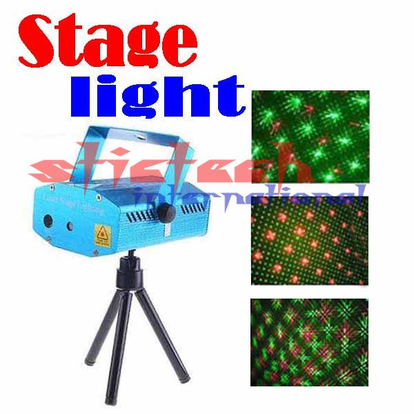 BY DHL OR EMS 5 pieces 150mW Mini Red & Green Moving DJ Party Laser Stage Lighting Light(China (Mainland))
