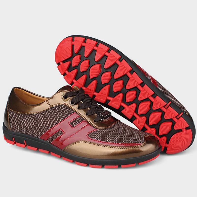 Здесь можно купить  Men Shoes 2015 Brand Sapatos Masculinos Large Big Size Fashion Casual Breathable For Men Shoes Summer Style Size 38-47  Обувь