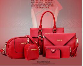 6 PCS/Set Picture packages Liu Jiantao 2016 new fashion handbags big bag ladies handbag shoulder diagonal(China (Mainland))