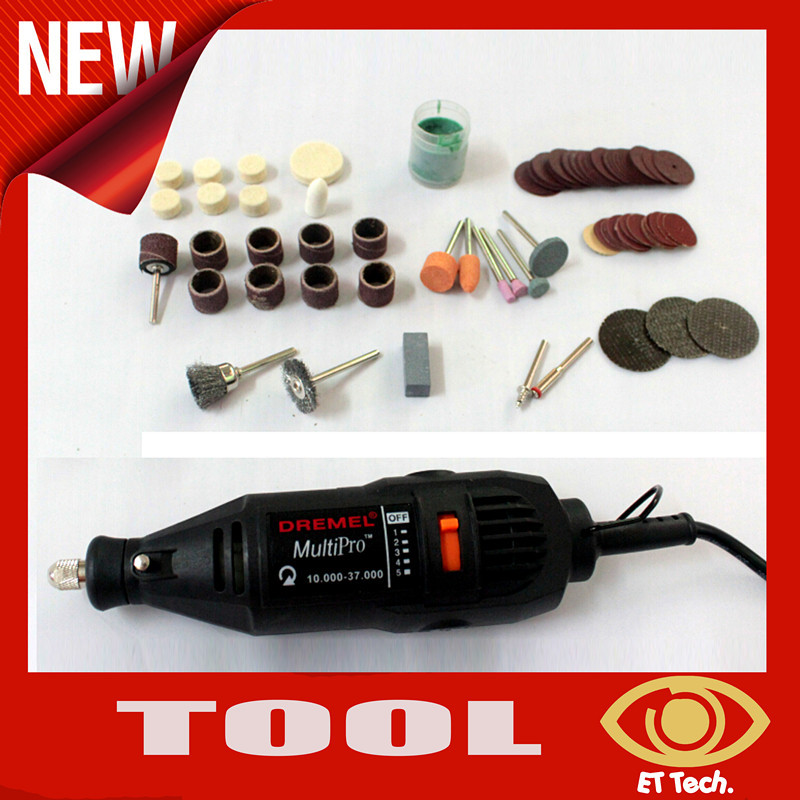 New 220V 125W Electric Tool 5Speed Adjustable Mini Electric Drill Grinding Jade Carving Machine+105 pcs/set Grinding Bits(China (Mainland))