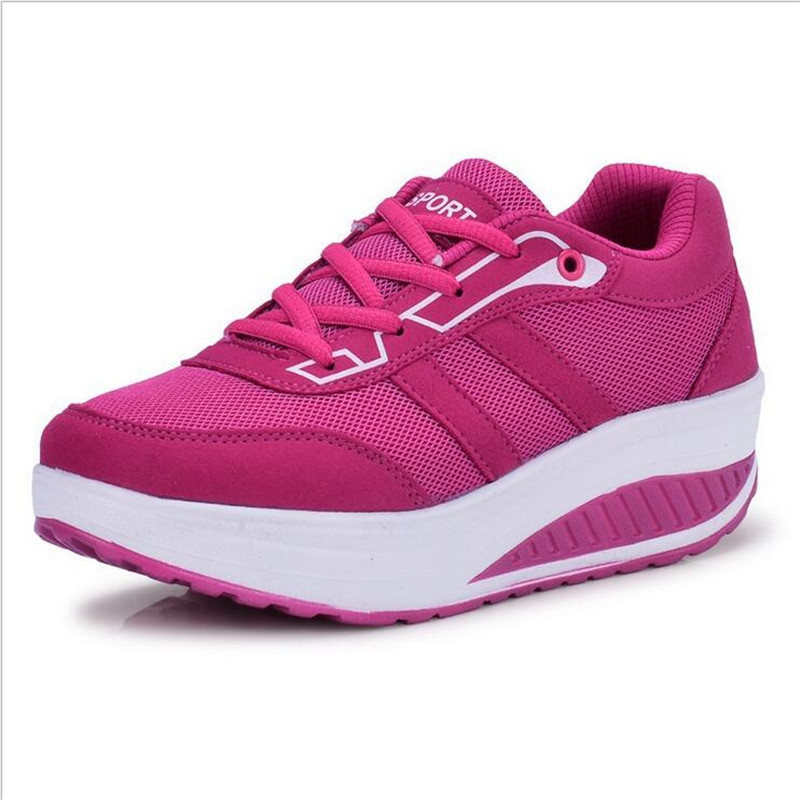 new 2016 Fashion Shoes women Slimming lady's Fitness ...