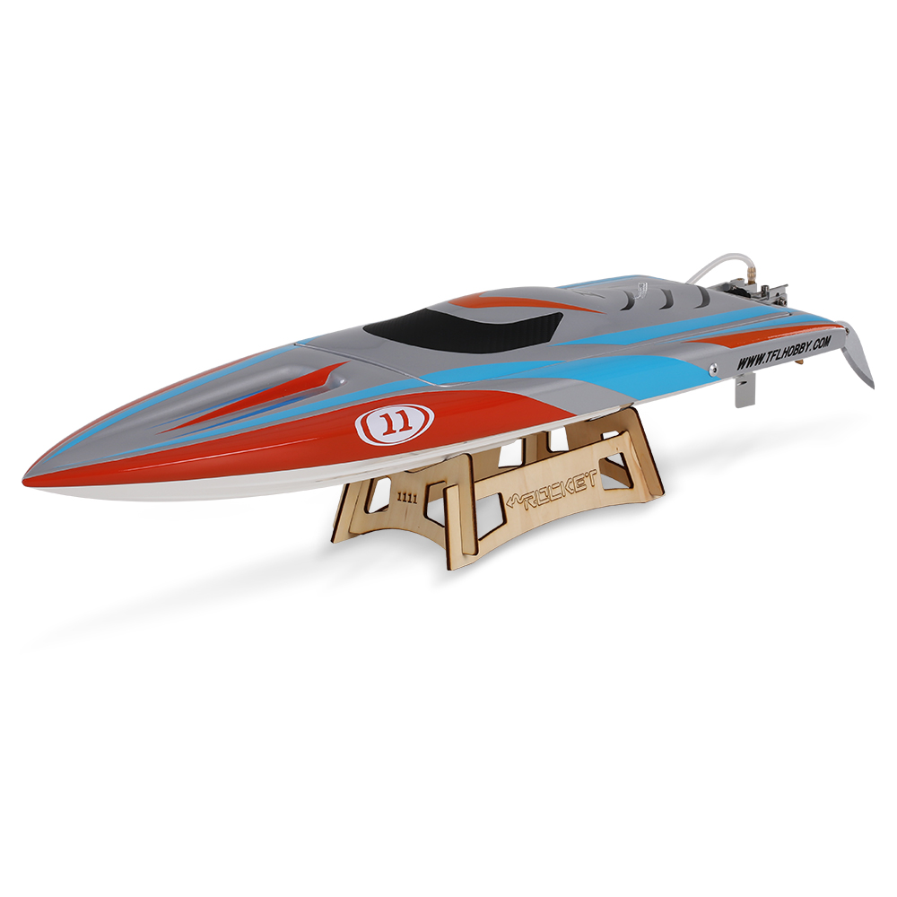Clearance RC Boat 1111 Rocket 2.4G Racing 2958 Brushless 70A ESC Electric Water Cooling Speedboat Fibre Glass RC Boat(China (Mainland))