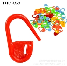 Buy 100Pcs/pack Plastic Knitting Crochet Locking Markers Crochet Latch Knitting Tools accessories GYH for $1.14 in AliExpress store