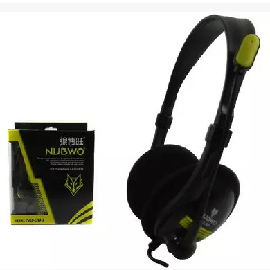 brand headband wired pc headset microphone Voice Chat skype Gaming Headphone stereo Earphones - sa mai's store