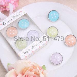 "2014 NEW ARRIVAL+""Cute Button"" Four Colors Fridge Magnet Good Wedding Favors Gifts+10+ - Perfect Co.,Ltd store"