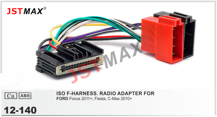 Jstmax12 140 Iso F Harness Radio Adapter For Ford Focus