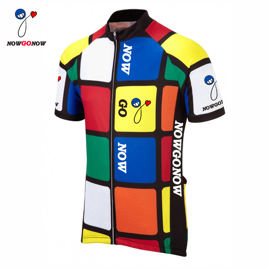 2016 la vuelta cycling jersey bike clothing PRO racing riding team nowgonow ropa ciclismo maillot mtb road red blue green white(China (Mainland))