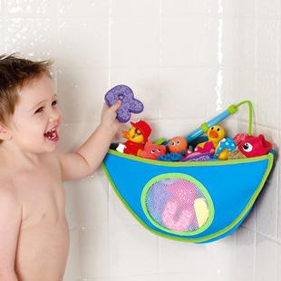 Mm015 водонепроницаемый угловая ванна игрушки контейнеры для хранения сумки сумки ванной полки элементы передач материала аксессуары поставок продукты