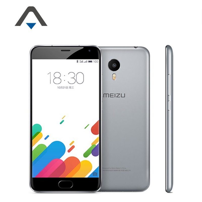 Original Meizu Metal M3 Note 3 5.5inch FDD LTE 4G Mobile Phone Helio X10 Octa Core 1920X1080 2GB RAM ROM 32G 13MP Flyme 5.0 ID