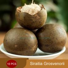 Organic 10pcs/Pack Mangosteen tea Siraitia grosvenorii dried fruit Luo Han Guo/Luo Han Kuo/Fructus Momordicael(China (Mainland))
