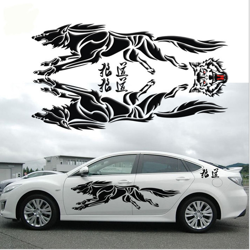 Aliexpresscom  Buy Personalized D Wolf Totem Decals Car - Vinyl decals for car body