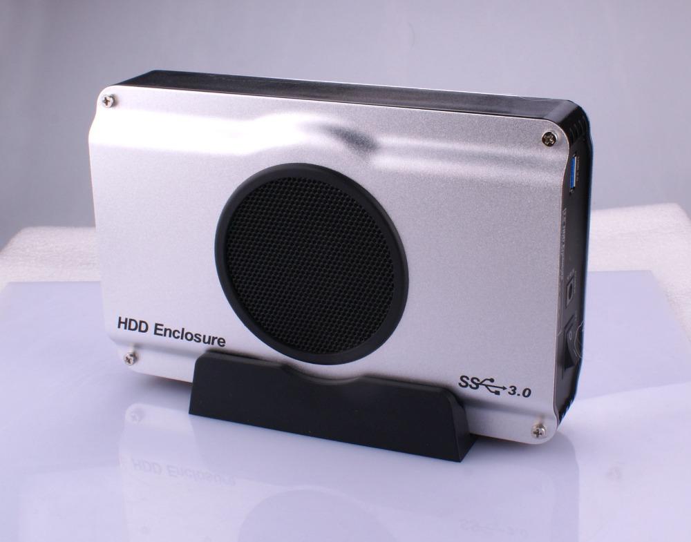 3.5 inch USB 3.0 HDD SATA Hard Disk Drive Enclosure Case Box Storage Devices - Digital kingdom store