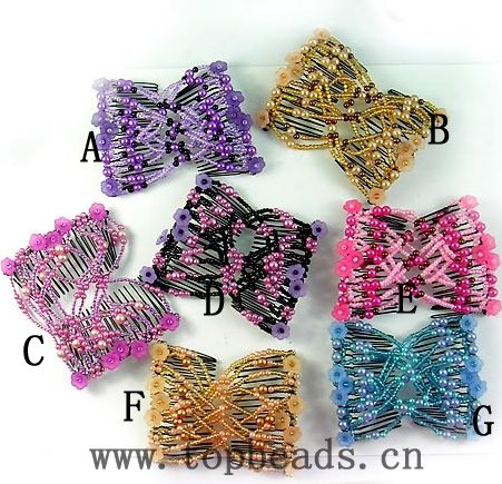 Easy Comb, Magnic Comb, Wholesales Comb, magic Hair Clips easy combs,hair clip stretch(China (Mainland))