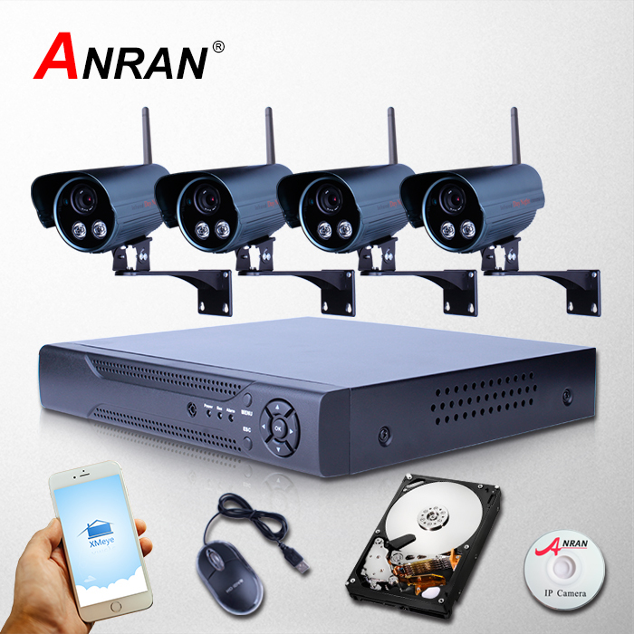 P2P 1080P 8CH NVR 2TB HDD IR Night Vision Outdoor WIFI IP Camera Wireless CCTV System For Home Security Video Surveillance(China (Mainland))