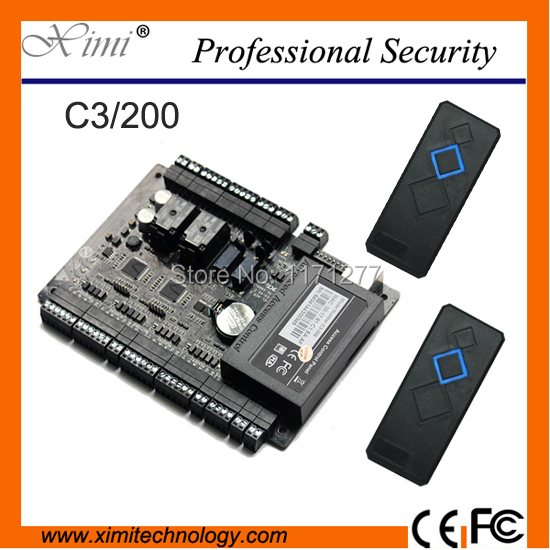 Access control system free SDK available Interlock function control two doors two ways RS485 TCP/IP access control panel(China (Mainland))