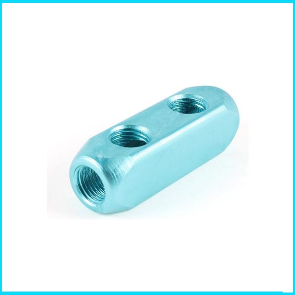 Free shipping g quot turquoise aluminum ways cuboid