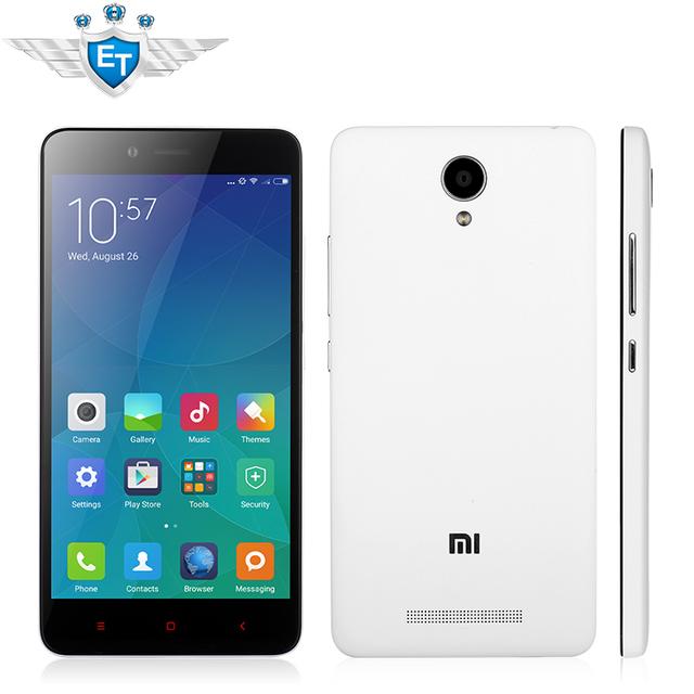 Оригинальный Xiaomi редми примечание 2 TD 4 г LTE сотовый телефон Android 5.0 мтк гелио X10 Octa ядро 5.5 '' 1920 x 1080 2 ГБ оперативной памяти 16 ГБ 13MP