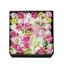 Exquisite Creative Gifts 33 pcs/box Soap flowers Wedding Birthday Decorations Mothers Day Necessary(China (Mainland))