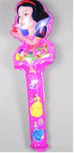 Palillo que anima inflable de aluminio de la lucha contra el palo palo de mano de la princesa de la gran muralla fuentes del partido