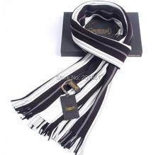 Wholesale Custom Made High Quality 2015 Autumn Winter Fashion Men's Wool Stripe Scarf Mix Color Casual Warm Scarf 1000pcs/lot(China (Mainland))