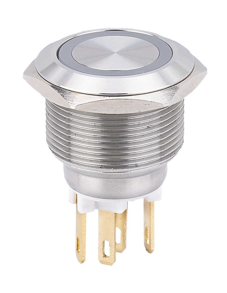 NEW product Anti vandal Pushbutton L22M (22mm) made of Stainless steel with Green LED<br><br>Aliexpress