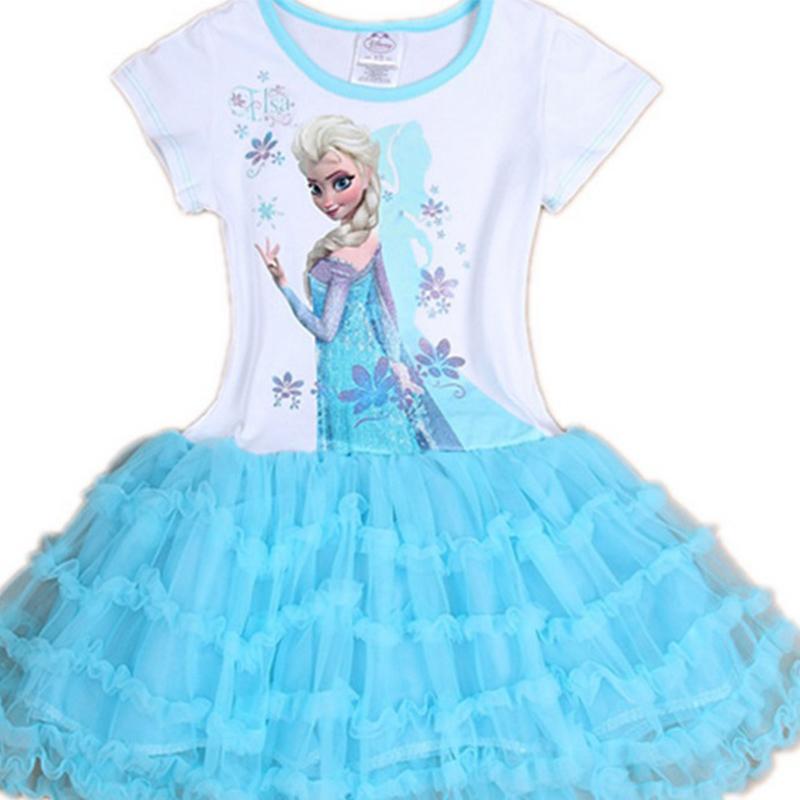 Hot Sale Children Toddler Clothes Fashion Princess Kids Girls Queen Elsa  Cosplay Fancy Dress Costumes Children