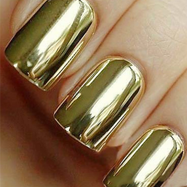 Smooth Nail Art Decorations Beauty Stickers Patch Foils Armour Wraps Decoration Decal Gold adesivo de unha - $0.99 Super Fashion Market store