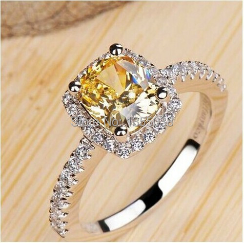 Victoria Wieck Brand jewelry Topaz simulated diamond 925 Sterling silver Wedding Ring Sz 5-10 Free shipping Gift R107<br><br>Aliexpress