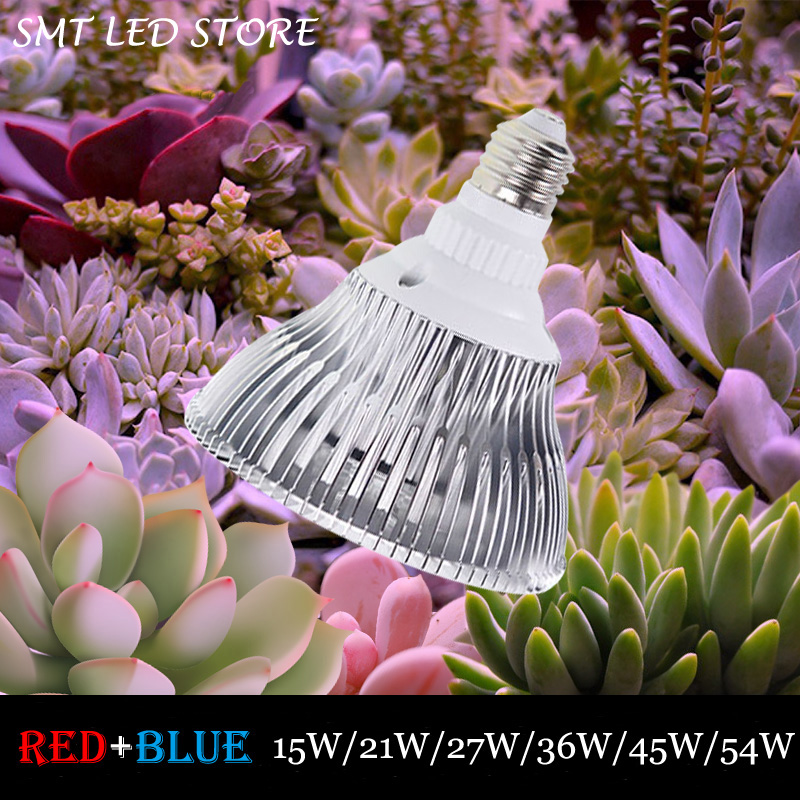 54W E27 85-265V High power LED Grow light 14 red 4 blue for flowering plant and hydroponics system Limited Time Offer(China (Mainland))
