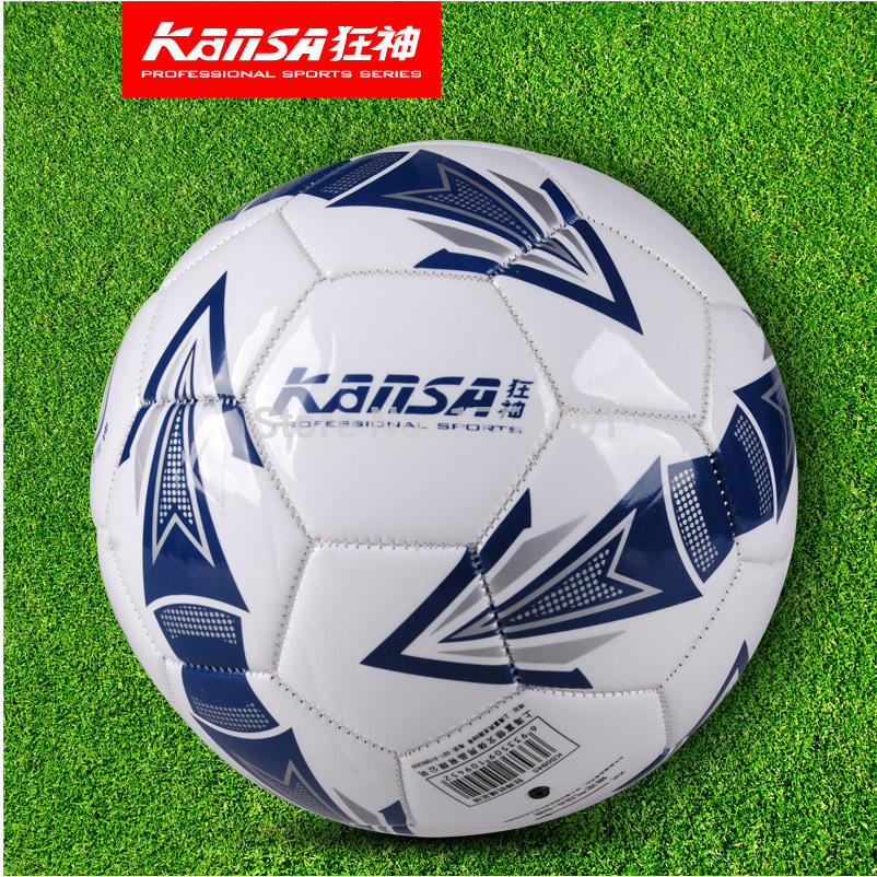 Hot Sale Genuine KS0945 size5 Sewing Machinery durability waterproof PVC football ball Free With Needle+Mesh bag!(China (Mainland))
