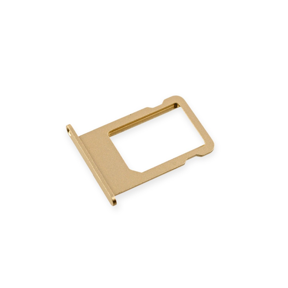 Gold Original New Nano Sim Card Tray Slot Holder Replacement for iPhone 5S
