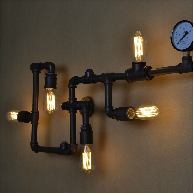 vintage industrial light fixtures bedroom home decor 110v 220v picture