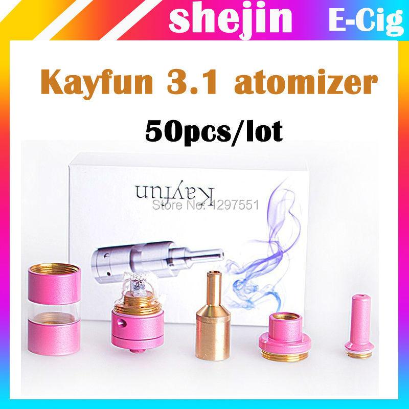 50pcs/lot Kayfun 3.1 Kayfun 4.0 Kayfun Lite 3.1 e kit t evod kayfun3.1