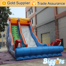 Inflatable Biggors Large PVC Inflatable Slide Water Park Slip N Slide Commercial Jumping Castle(China (Mainland))