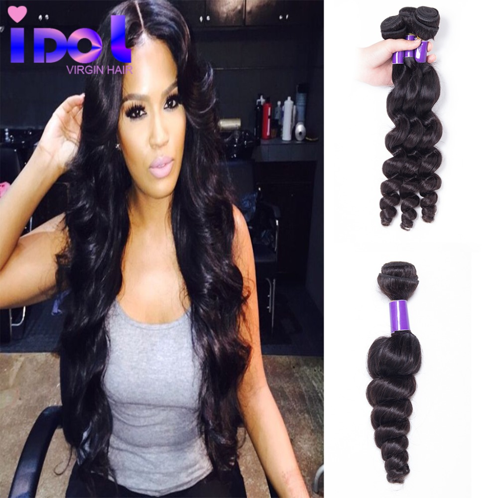 Peruvian Loose Wave 3pcs lot Grade 7A Unprocessed Human Hair Weave Peruvian Virgin Hair Loose Wave Curly Free Shipping By DHL<br><br>Aliexpress