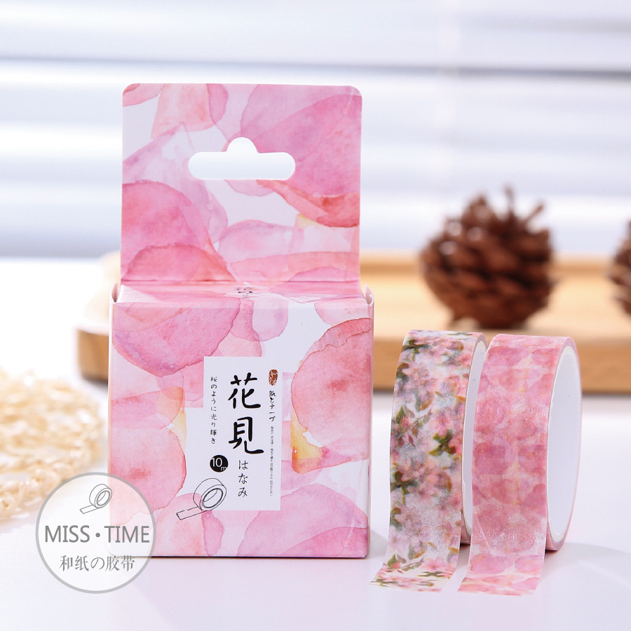 NEW 2 Pieces 3 Meter Cherry Series Washi Tape Adhesive Tape DIY Scrapbooking Sticker Label Masking Tape<br><br>Aliexpress