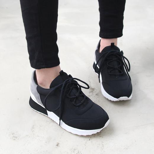 Высокое качество 2016 тапок кружева-up спортивная обувь женщины удобные кроссовки f-037