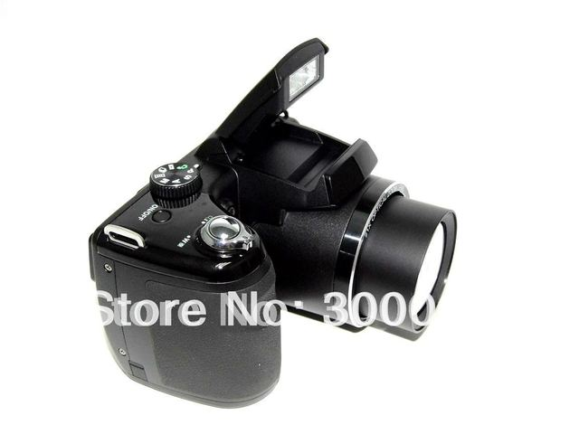 "Super quality Professional digital  SLR photo camera 16.0Mega Pixel CMOS sensor with 3.0"" screen and 21*optical zoom"