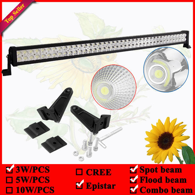 42inch 240W led offroad light bar used for 4wd Driving Tractor Boat Truck SUV ATV Car Garden Backyard 12V 24V LED Bar(China (Mainland))
