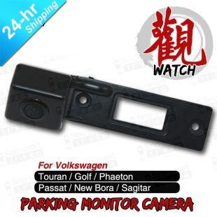 Fast Shipping Wireless HD CCD Car Parking Camera for Volkswagen Passat New Bora Sagitar Touran Golf etc. Night Vision Waterproof(Hong Kong)