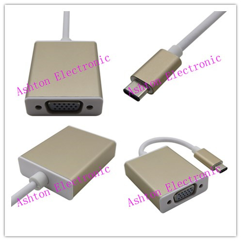 The New Computer Usb3.1Type-c Data Cables On The Vga Conversion Can Be Positive And Negative Plug The Latest Interface For Apple(China (Mainland))