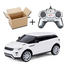 Licensed 4CH Rastar RC Cars Machines On The Radio Controlled 1:24 Scale Range Rover Evoque Remote Control Toys Boys Gifts 46909(China (Mainland))