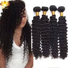 Aliafee Hair 7A Unprocessed Vietnamese Hair 4Pcs Vietnamese Deep Wave Cheap Human Hair Weave Vietnamese Virgin Hair Extensions(China (Mainland))