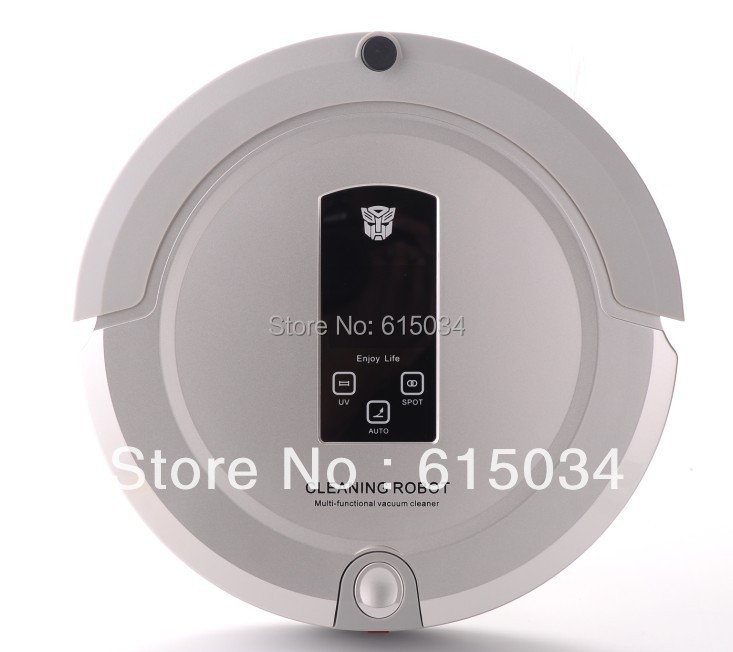 With Newest Technology Shining Logo,Best 4 In 1 Multifunctional Robot Vacuum Cleaner 325 ,With 2-way virtual wall