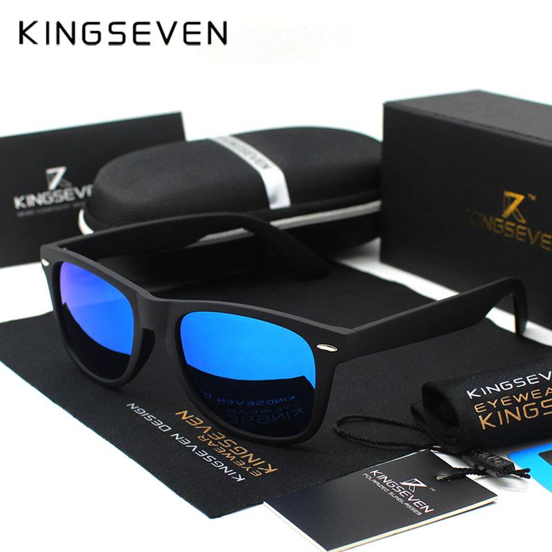 Kingseven Revo Coating Men Sunglasses Women polarized Driving Mirror Eyewear Male Sun glasses Points Women Oculos de sol female(China (Mainland))