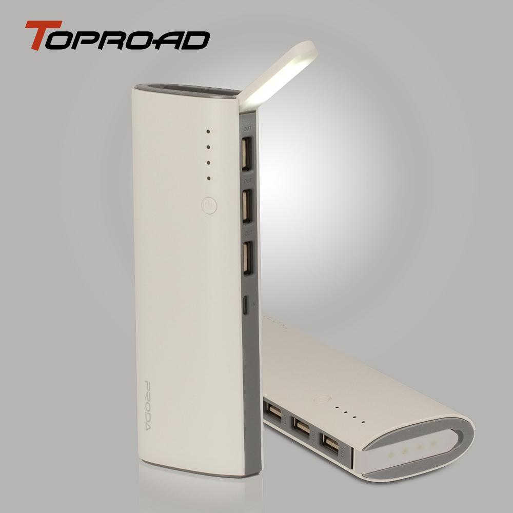 Multi Function Power Bank 12000mAh Ultra Slim LED Lamp Light 3 USB Portable Charger Bateria Externa Laptop Battery for Cellular(China (Mainland))