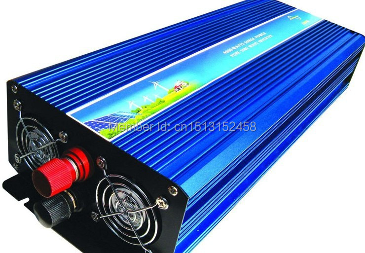 High Quality 24VDC to 230VAC 50HZ UK Socket 2500W Pure Sine Wave Solar Power Invertor for European Countries(China (Mainland))