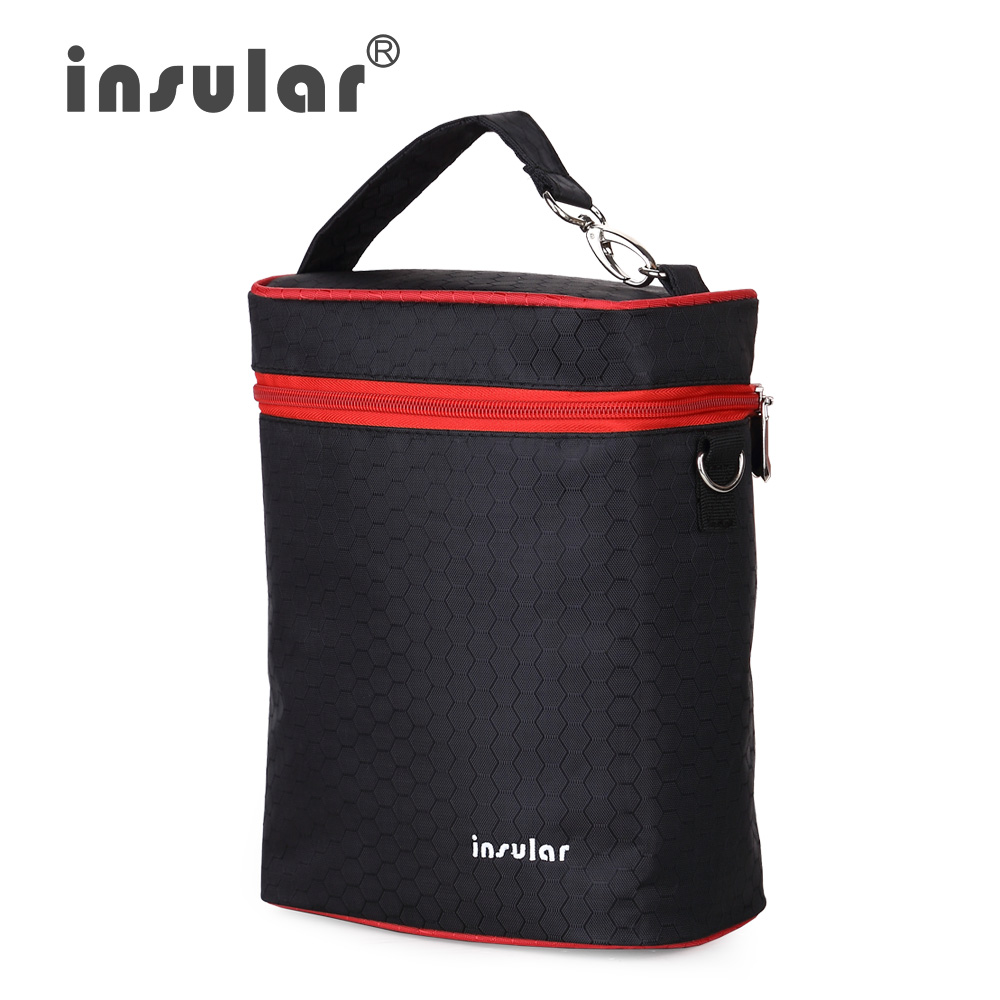 Fashion Brand Insular 420D Nylon Baby Feeding Bottle Insulation Bags Thermal Bottle Bags Cooler Bags(China (Mainland))