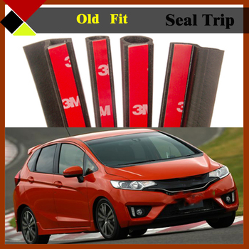 Automotive Trunk Door Engine B/C Pillar Rubber Weatherstrip Seal Strip Air Sealed Hollow Sound Proof For Fit